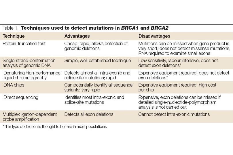 BRCA1基因检测是怎么回事?